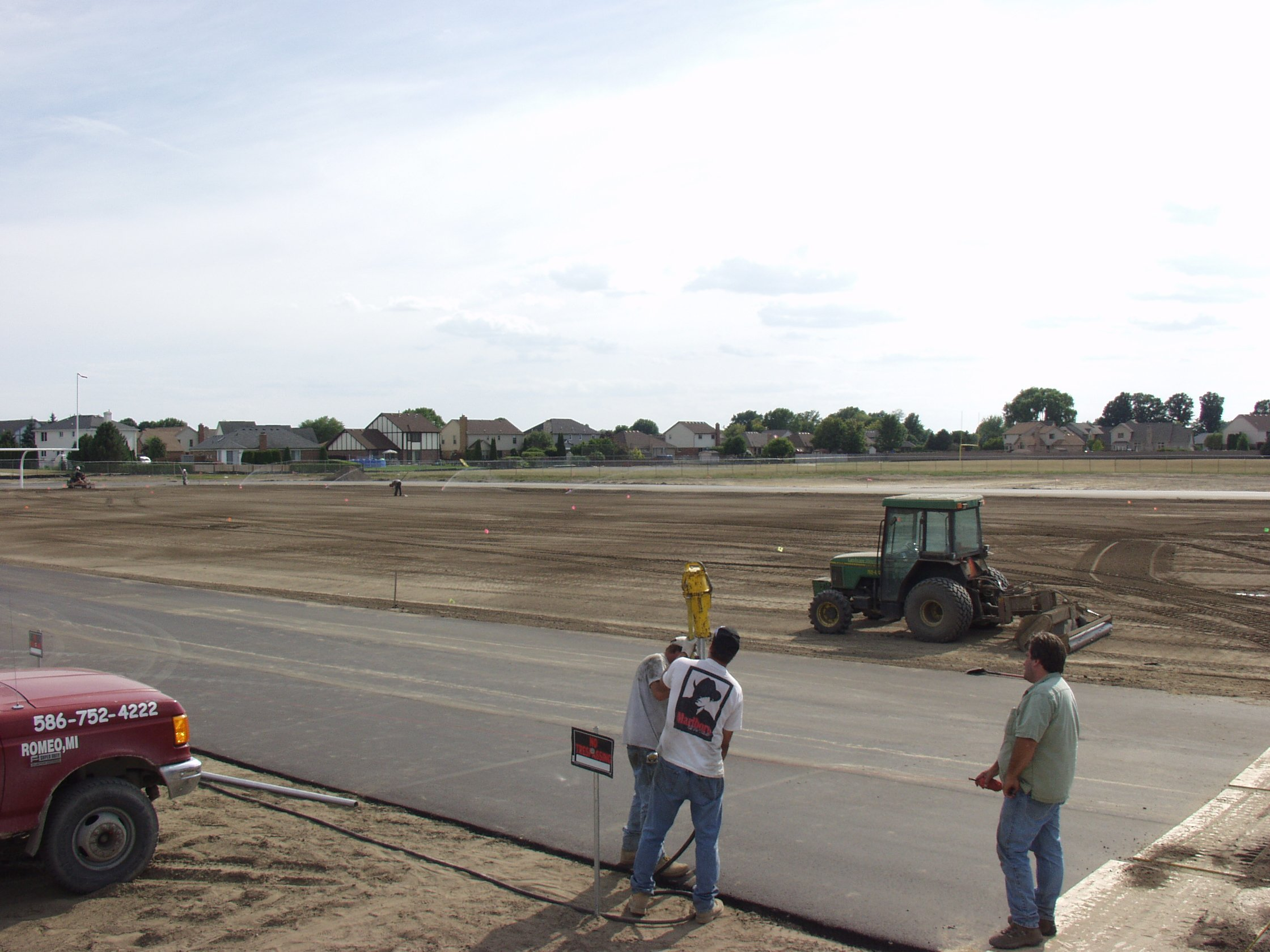 LD Athletic fields and maintenance
